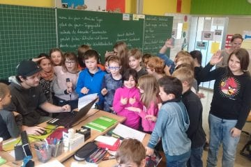"""""""Pop goes Grundschule"""": Das Erfolgsmodell des PopRates geht in die nächsten Runden - Mit Unterstützung der Bank 1 Saar"""