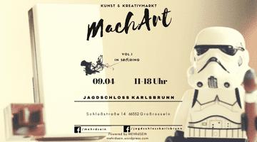PopRat-Event-Tipp: Mehr|d|sein lädt zum ersten Kunst & Kreativmarkt im Jagdschloss Karlsbrunn ein - MachArt Vol.I: In Sp(i)ring