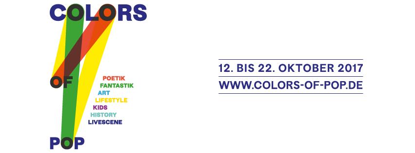 "PopRat-Events beim neuen Festival ""Colors of Pop"""