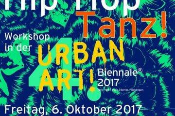 """""""Hip-Hop-Tanz"""" in der """"4. UrbanArt Biennale® 2017"""" des Weltkulturerbes Völklinger Hütte"""