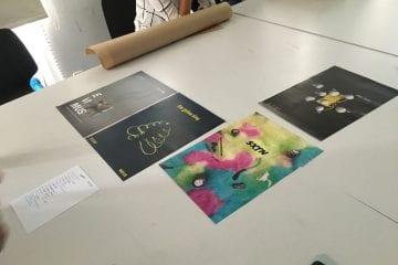 """Coming soon: """"Gig Posters""""-Ausstellung der HBK-Studierenden - Initiiert vom PopRat - Präsentiert zum """"Colors of Pop"""""""