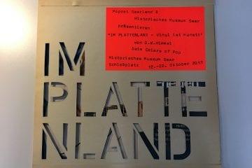 """Coming soon: """"Im Plattenland - Vinyl ist Kunst! - Vom PopRat fürs """"Colors of Pop"""""""