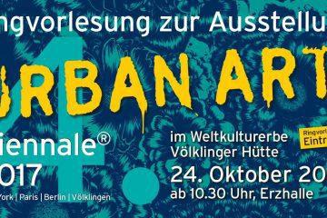 PopRat-Event-Tipp: Ringvorlesung zur Ausstellung 4. UrbanArt Biennale®  am 24.10.2017