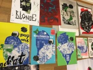 "PopRat Saarland und ""Colored Gigs"" präsentieren:  ""Poster-o-rama.com – An european gig poster show"""