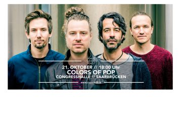 PopRat-Event-Tipp: StereoKai live am 21.10.2017 beim Colors Of Pop in Saarbrücken