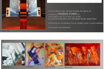 """PopRat-Event-Tipp: Ausstellung """"Farben-Form"""" im Arthouse-Saar"""