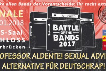 Battle Of The Bands: Finale am Schloss – der PopRat gratuliert den Gewinnern