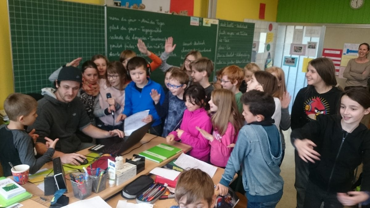 "Antwort des PopRates Saarland auf die Echo-Kollegah-Farid Bang-Debatte: ""Pop goes Grundschule"""