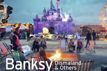 "PopRat Saarland Kooperationspartner der Ausstellung ""Banksy's Dismaland & Others – Fotografien von Barry Cawston"" im Weltkulturerbe Völklinger Hütte"