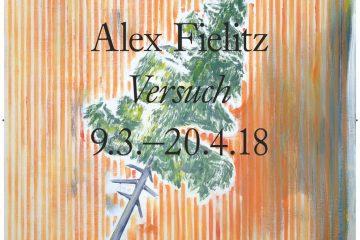 """PopRat Event-Tipp: Vernissage / Alex Fielitz """"Versuch"""" in der Galerie Neuheisel"""