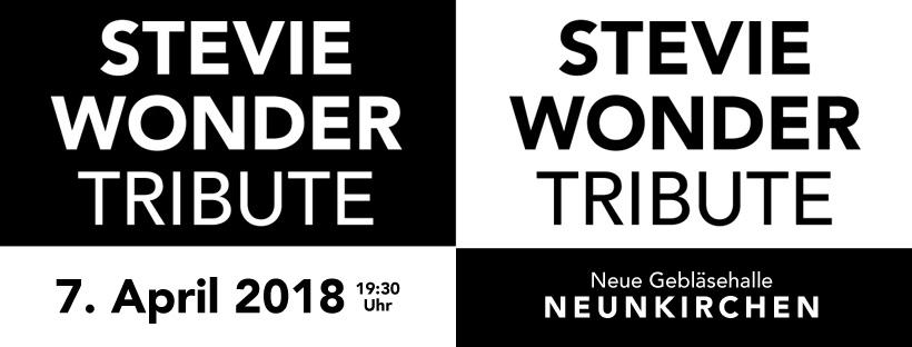 Stevie Wonder Tribute – Erstes Live-Konzert von IntensivTheater am 07. April 2018 in Neunkirchen