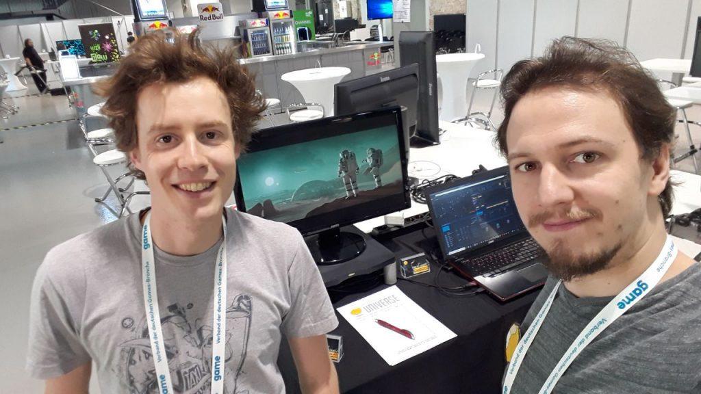 Die saarländische Gamingszene auf der Gamesweek in Berlin
