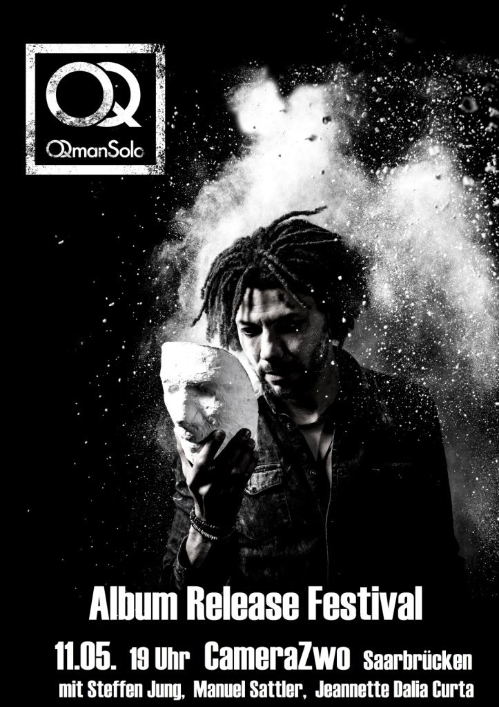 PopRat Event-Tipp: OQmanSolo Album-Release-Festival am 11.05. im CameraZwo in Saarbrücken
