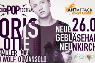 Das 9kircher POP Festival 2019: Industrie- und Popkultur treffen aufeinander!