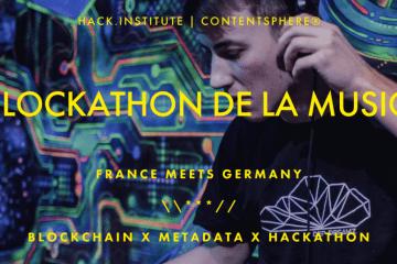 """""""Le Blockathon de la Musique"""" Empowering musicians by redefining the music ecosystem. - PopRat ist saarländischer Partner"""
