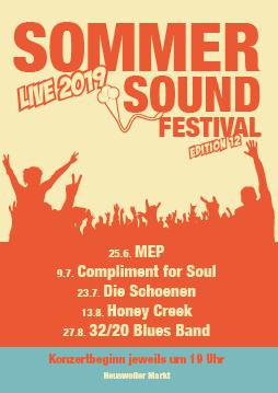 12.  Sommer Sound Festival auf dem Heusweiler Markt
