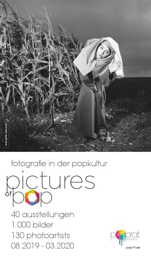 Pictures of Pop – Fotografie in der Popkultur – 40 Ausstellungen. 1000 Bilder. 130 Fotografen. 08.2019–03.2020